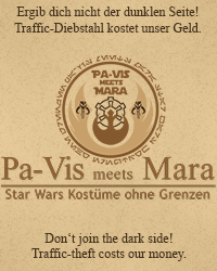 Pa-Vis meets Mara • Star Wars Kostüme ohne Grenzen - Standard Jedi ...